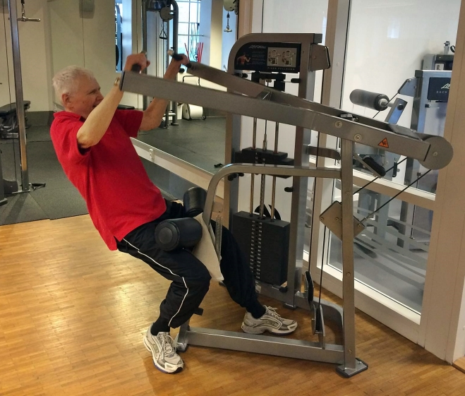 Lars at the Gym